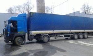 Заливка масла «Агринол» в автомобили компании «Автек»