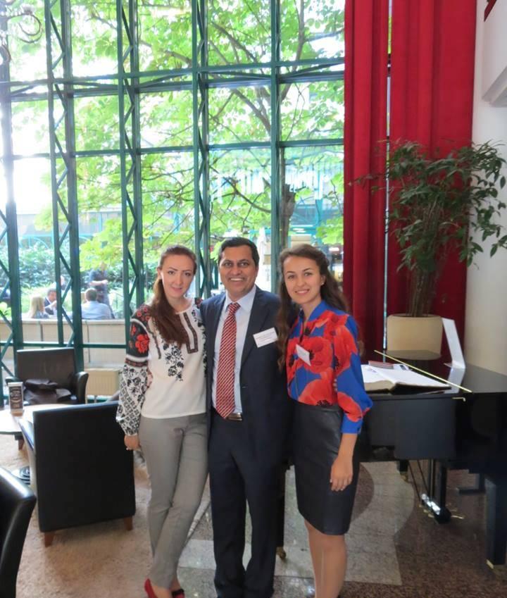 Компания Агринол на саммите «Европейские Базовые масла и смазочные материалы», 2015 год.