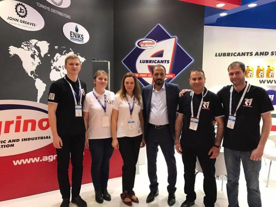 Международная автомобильная выставка Automechanika Istanbul 2017, в которой приняла участие компания  Агринол!