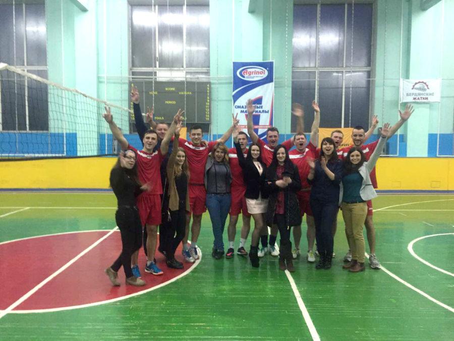 Турнир «Содружества» по волейболу в Бердянском городском Дворце Спорта