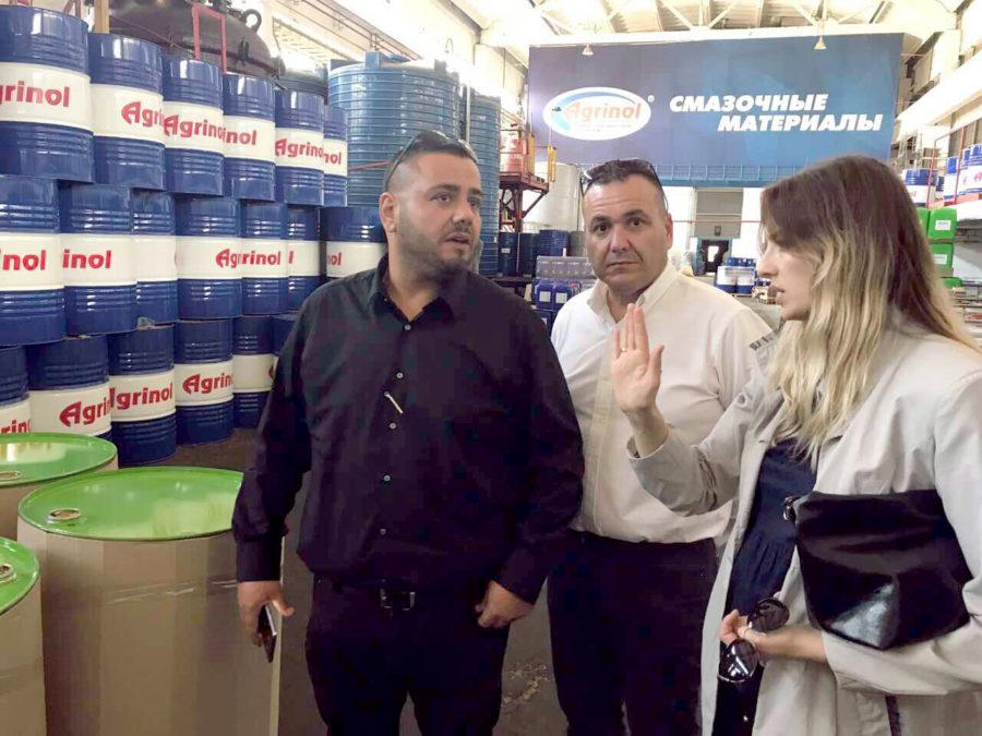 Делегация из Израиля посетила компанию «АГРИНОЛ»
