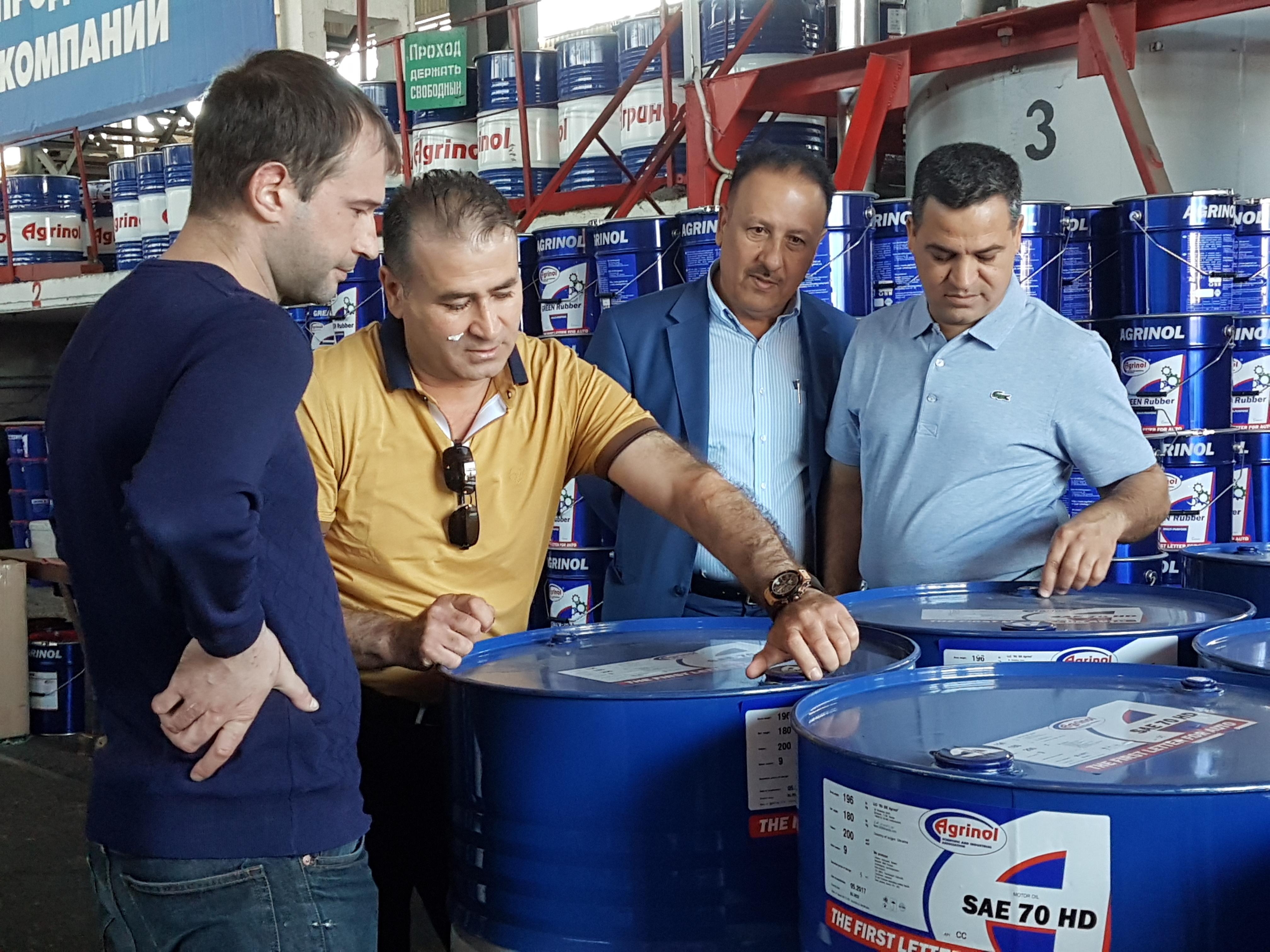 АБизнесмены из Ирака заинтересованы в развитии сотрудничества с бердянским «Агринолом»