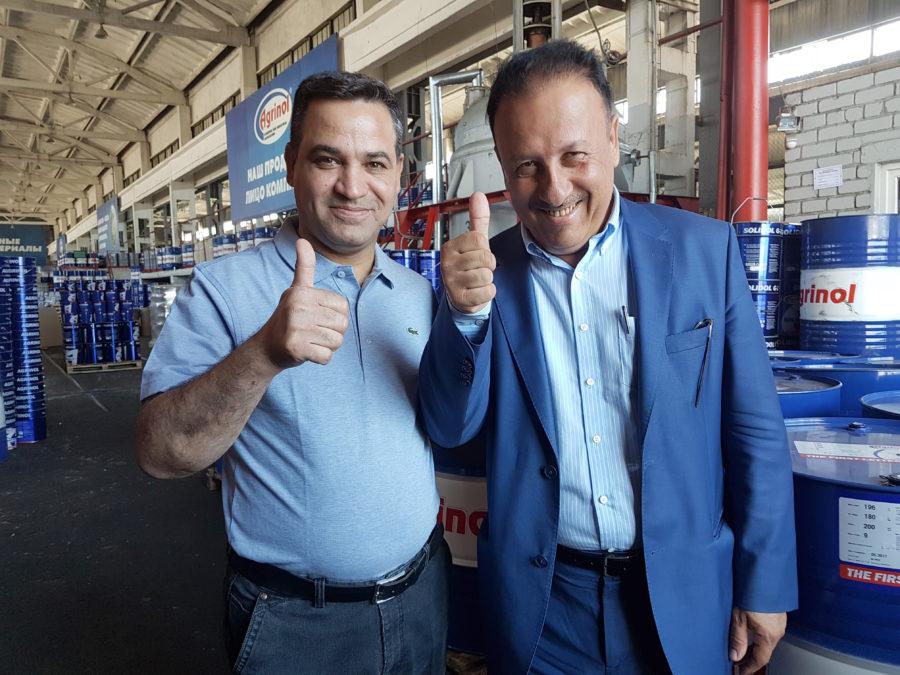 Бизнесмены из Ирака заинтересованы в развитии сотрудничества с бердянским «Агринолом»